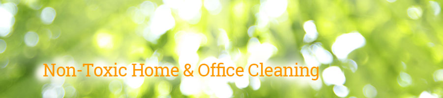 Non-Toxic Home & Office Cleaning